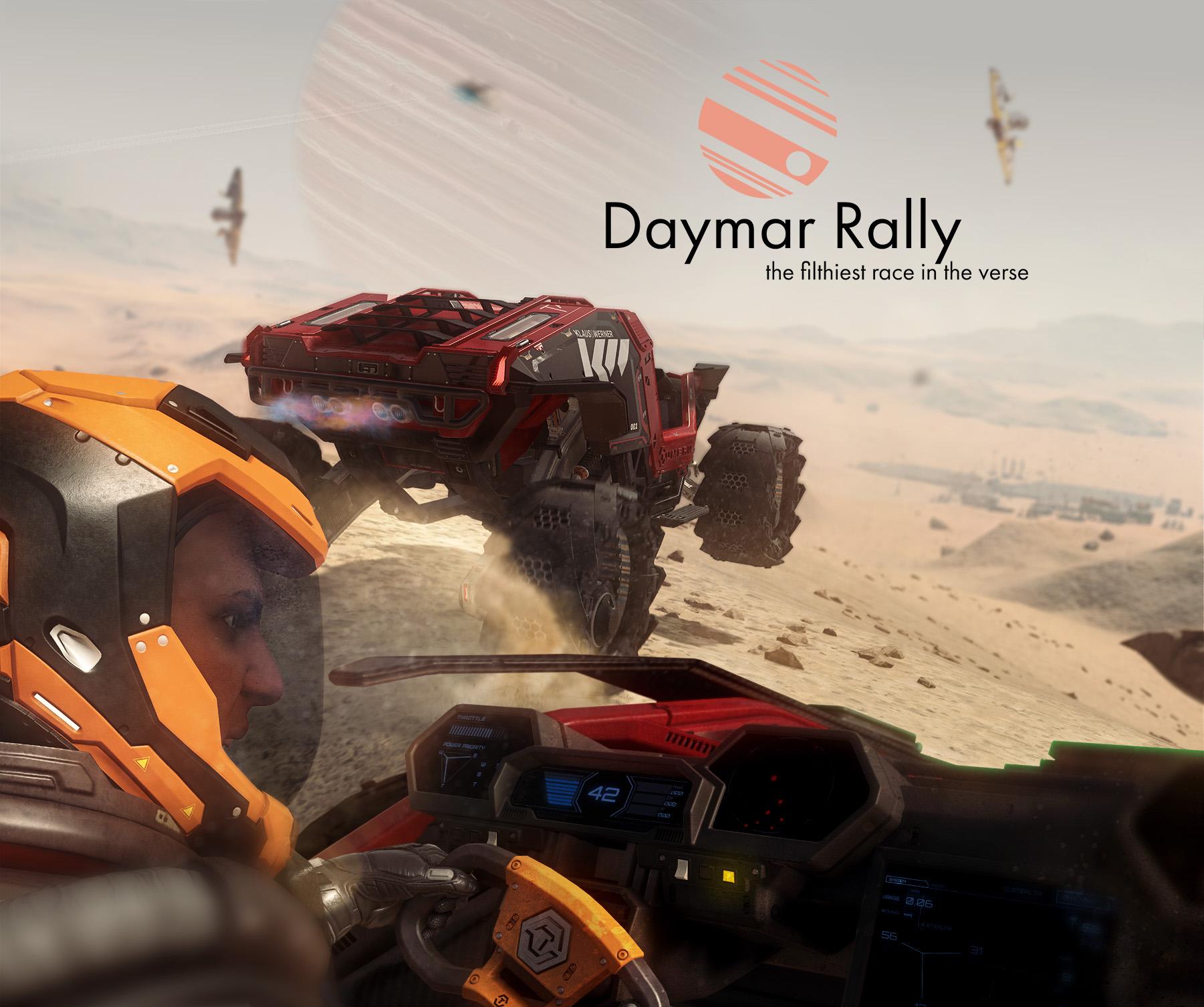 Daymar Rally CitizenCon 2019 Booth Backdrop