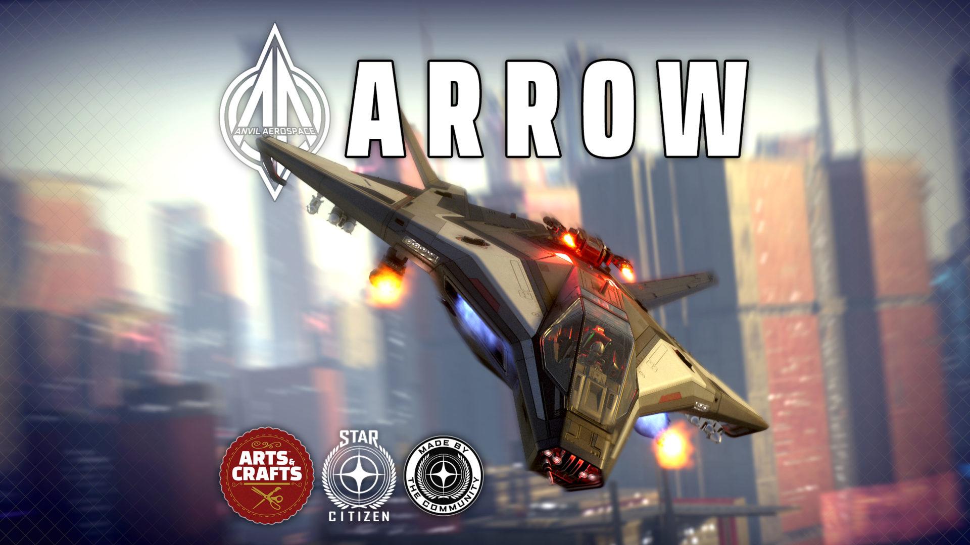"Star Citizen Anvil Arrow Commercial; ""Contraband Inbound"" thumb"