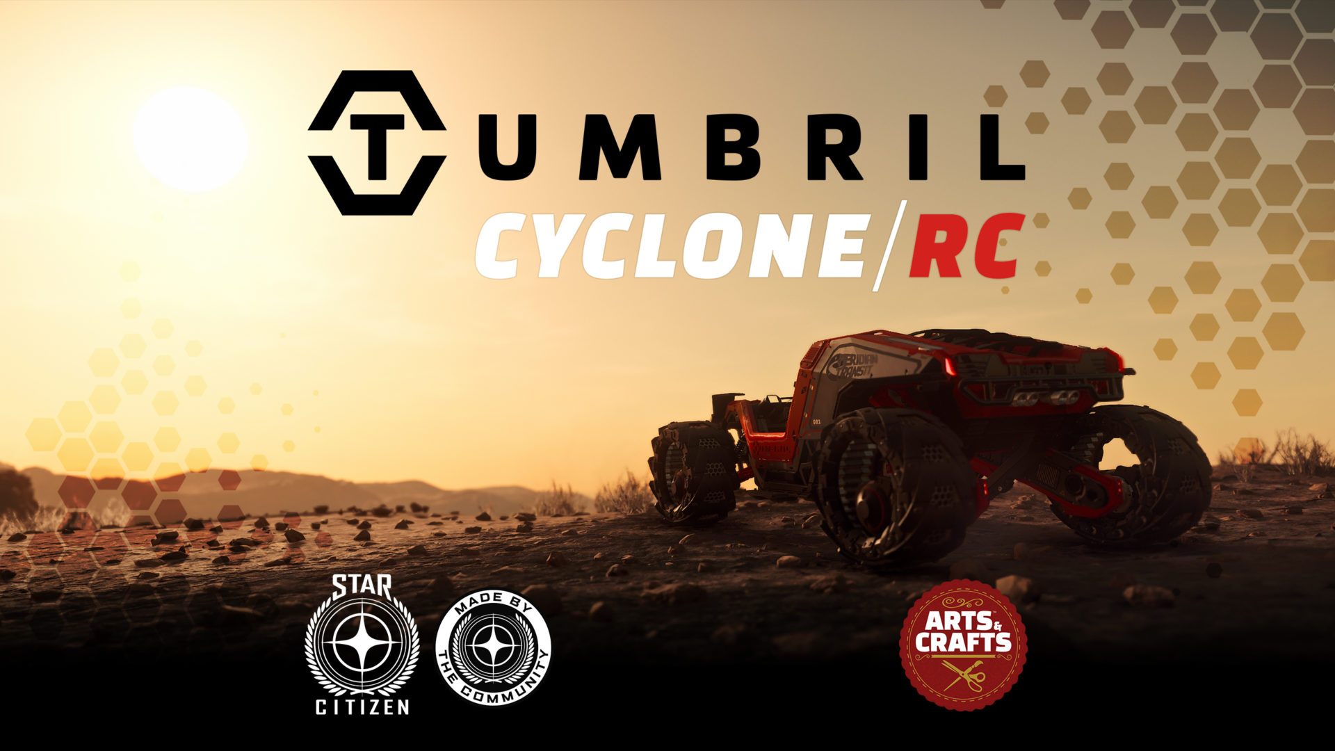 """Star Citizen Tumbril Cyclone Commercial; """"Chasing Sunsets"""" thumb"""