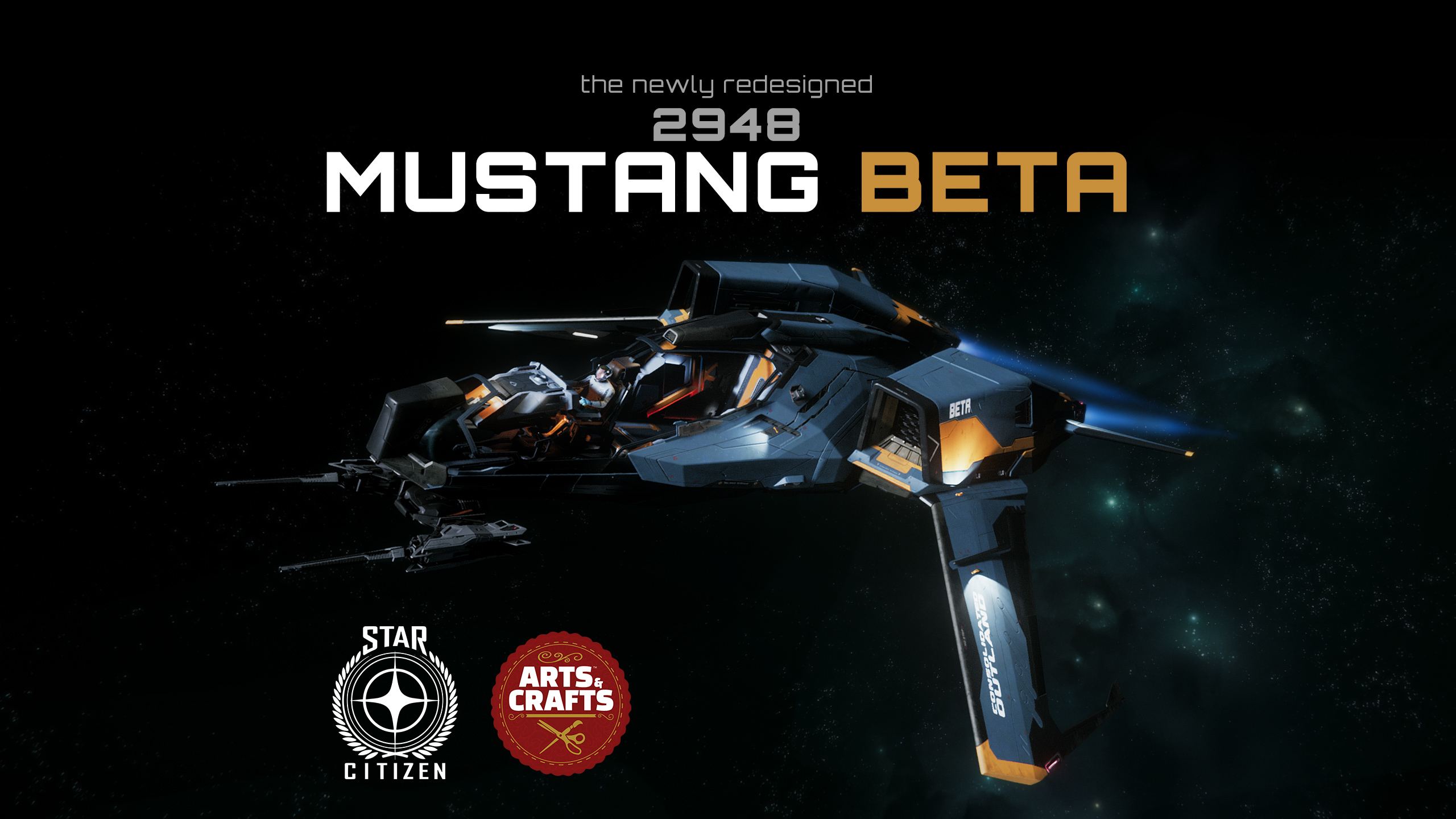 Star Citizen Mustang Beta Commercial [CIG Contest]