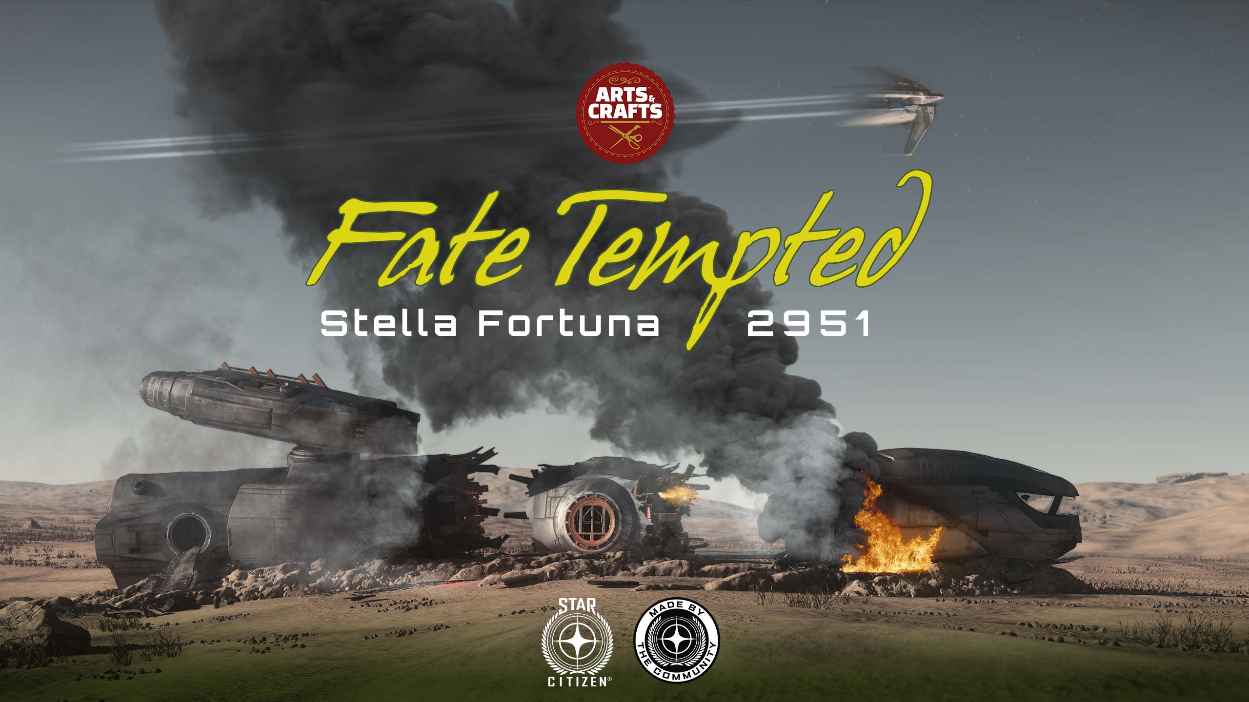 """You are currently viewing Star Citizen """"Fate Tempted"""" [CIG Contest]"""